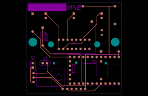 Back side of the v3.0 board.