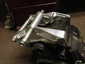 Finished motor mount