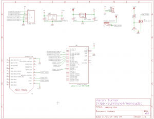 TeensyDSC v0.5.1 Schematic